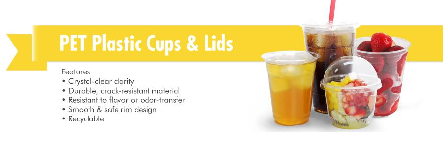 Pet Plastic Cold Cups Karat